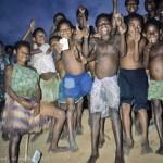 Children on road to Kiunga near Ok Tedi, PNG(E Medley)