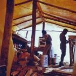 Ok Tedi fly camp tent (E Medley)